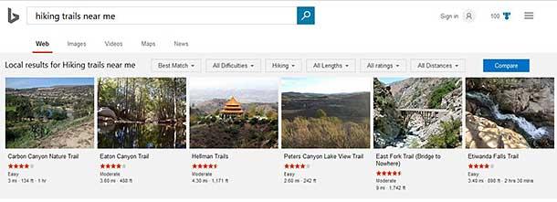 Bing, Bang, Boom! Discover Hiking Trails Near You   SEO First
