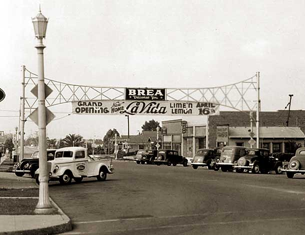 Old Photo Brea, CA