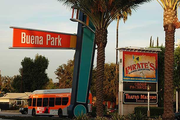 Buena Park, CA Entrance